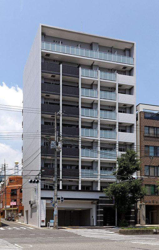 アドバンス神戸プリンスパーク:外観・南西面