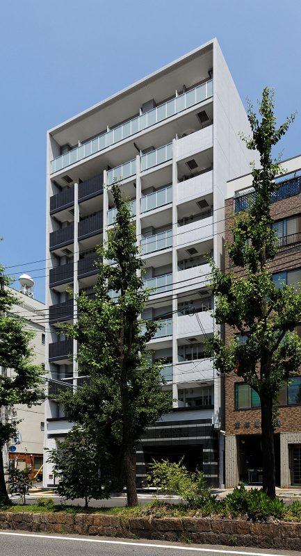 アドバンス神戸プリンスパーク:外観・南東面