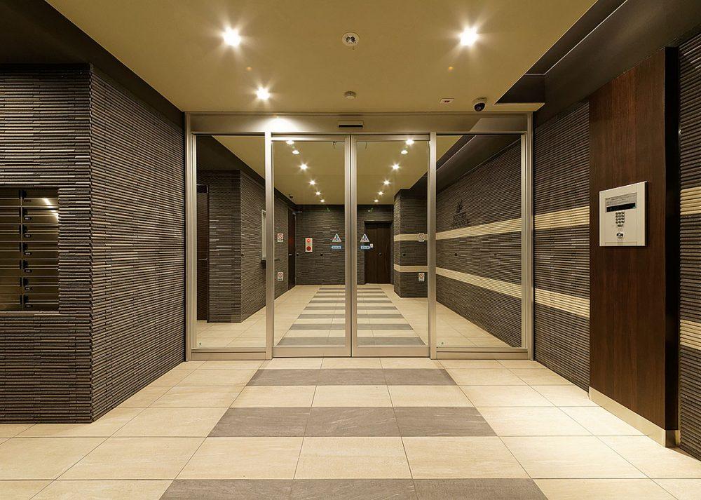 アドバンス神戸プリンスパーク:風除室